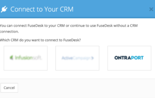 Ontraport Connect to FuseDesk